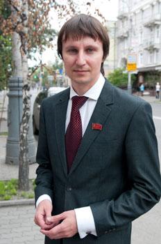 Вице-спикер Городского совета Красноярска, красноярский правозащитник Глисков Александр Александрович