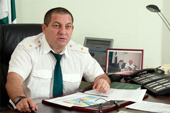 Бывший начальник Красноярской таможни Козаев Дмитрий Евгеньевич