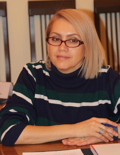 Депутат Горсовета Красноярска Курамшина Елена Вячеславовна
