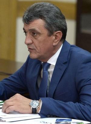 Полномочный представитель Президента РФ в Сибирском федеральном округе Меняйло Сергей Иванович