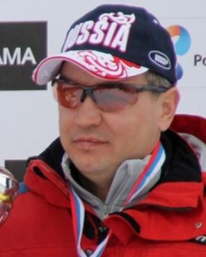 Горнолыжник, чемпион Паралимпиады в Сочи 2014 и в Пхенчхане 2018 Редкозубов Валерий Анатольевич
