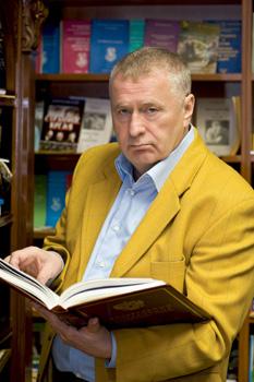 Основатель и председатель Либерально-демократической партии России (ЛДПР) Жириновский Владимир Вольфович