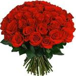 Букет Элитные красные розы