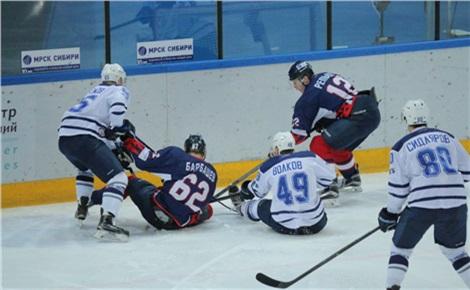 Хоккей: «Сокол» – «Динамо Спб»