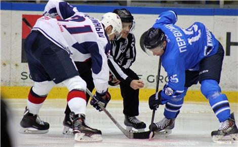 Хоккей: «Сокол» - «Металлург»