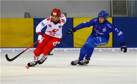 Хоккей с мячом. «Енисей» - «Динамо-Москва»