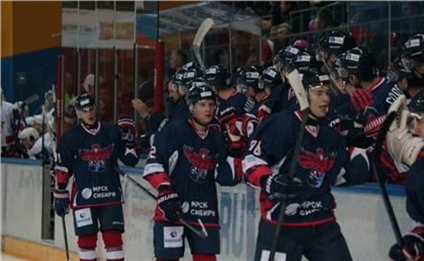 Хоккей: «Сокол» – «Югра» (Ханты-Мансийск)