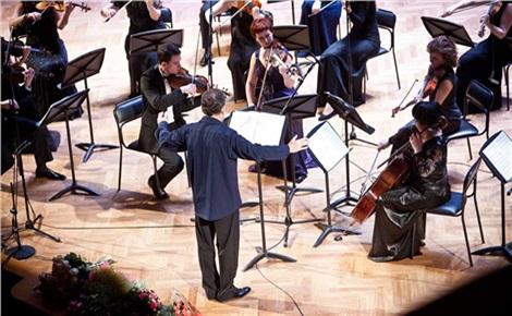 Аркадий Шилклопер и Камерный оркестр Игоря Лермана
