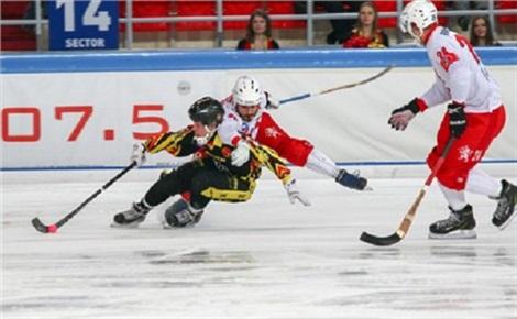 Хоккей с мячом: «Енисей» – «Байкал-Энергия»