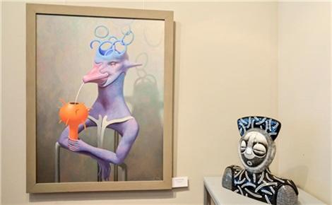 Выставка художника Александра Краснова