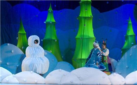 Спектакль «Морозко» в ТЮЗе