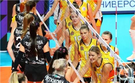 Волейбол (женщины): «Енисей» – «Ленинградка»