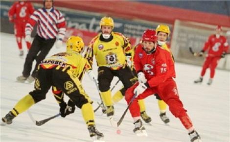 Хоккей с мячом: «Енисей» - «Кузбасс»