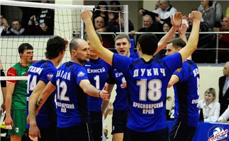 Волейбол: «Енисей» – «Динамо-ЛО»