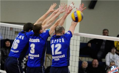 Волейбол: «Енисей» – «Зенит-Спб»