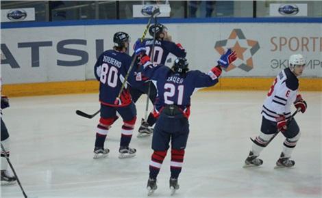 Хоккей: «Сокол» – «Саров»
