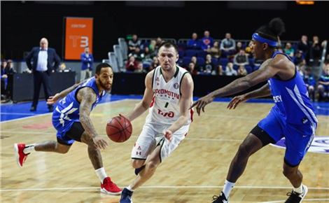 Баскетбол: «Енисей» - «Локомотив-Кубань»