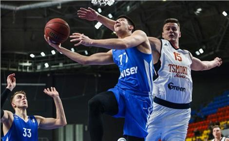 Баскетбол: «Енисей» – «Цмоки-Минск»