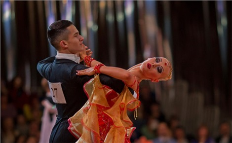 Танцевальный спорт «Огни большого города»