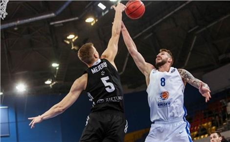 Баскетбол: «Енисей» - «ВЭФ» (Рига, Латвия)
