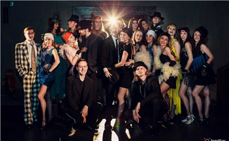 Свободный балет Валерия Терёшкина и The RockFellers