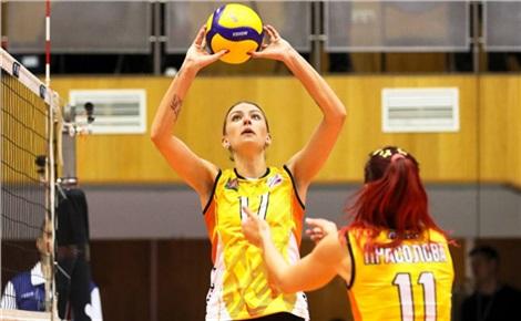 Волейбол (женщины): «Енисей» - «Метар»