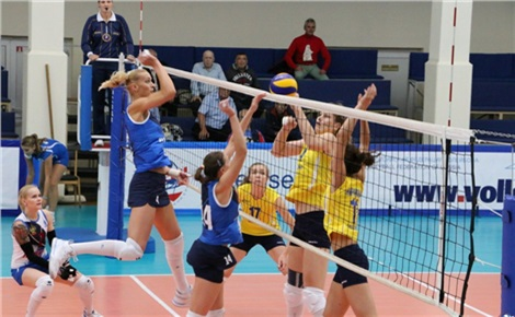 Волейбол (женщины): «Енисей» - «Динамо» (Краснодар)
