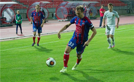 Футбол: «Енисей»— «Балтика»