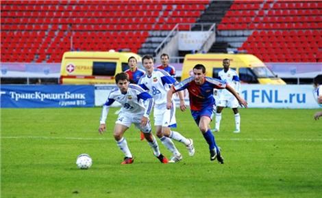Футбол: «Енисей»— «Томь»