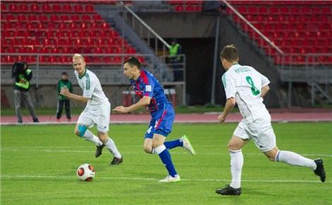 Футбол: «Енисей»— «Зенит-2»