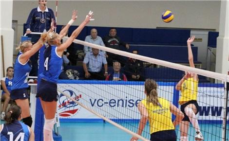 Волейбол (женщины): «Енисей» - «Уралочка-НТМК»
