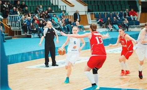 Баскетбол (женщины) «Енисей» – «Мерси́н» (Турция)