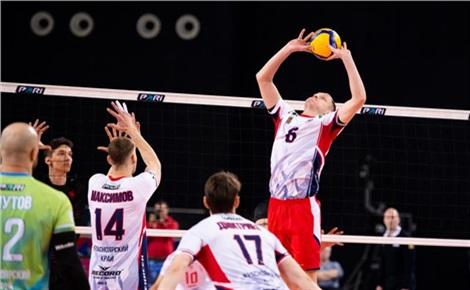Волейбол: «Енисей» - «Югра-Самотлор»