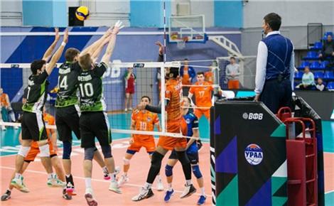 Волейбол: «Енисей» – «Урал»