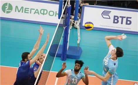 Волейбол: «Енисей» – «Белогорье»