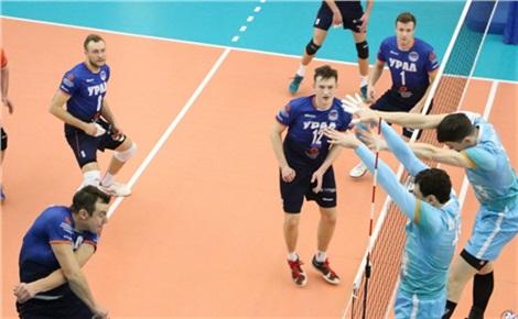 Волейбол: «Енисей» – «Кузбасс»