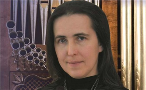 Елена Цыбко, орган (Москва)