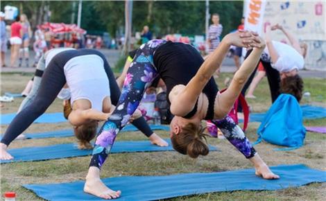 Тренировки в Татышев-парке вместе с NRGym