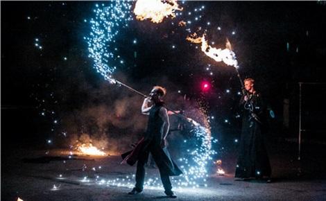Красноярский огненный концерт