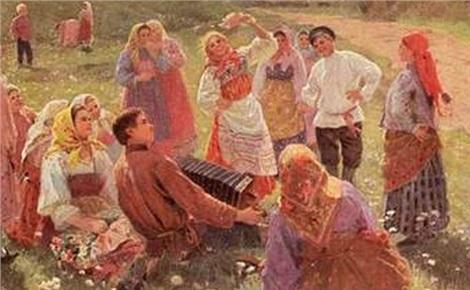 Традиционные старинные русские игры