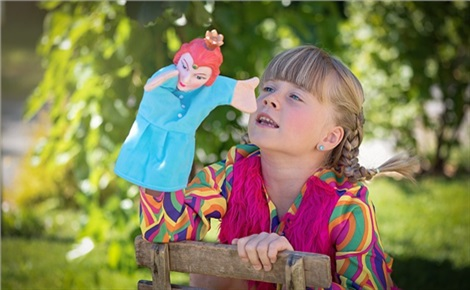 Кукольный спектакль в Парке Троя