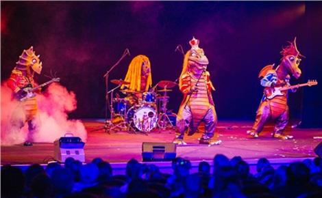 «Поющие динозавры» и друзья
