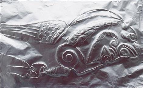 По следам древнего человека: чеканка