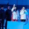 ВКрасноярске зажгли символический огоньI зимних детских спортивных игр