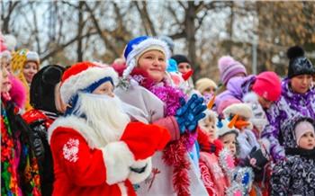 Красноярский Парад снеговиков