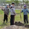 Вселе Филимоново Канского района благоустраивают территорию новой школы