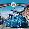 Вчесть Дня города вцентре Красноярска прошел карнавал