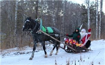 Фоторепортаж: Настоящий Дед Мороз вКрасноярске