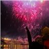 Рождество вКрасноярске впервые отметили фейерверком