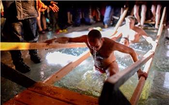 Фоторепортаж: Крещенские купания